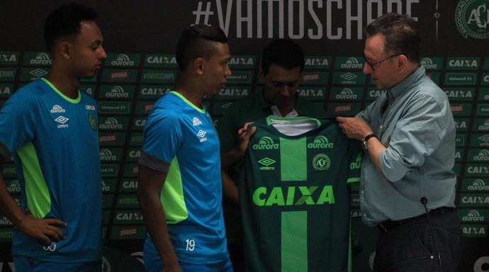 Niltinho e Dodô Chapecoense (Foto: Sirli Freitas/Chapecoense)