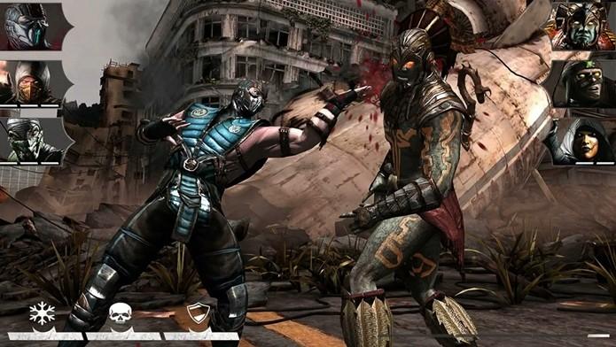 Mortal Kombat X chega com muito sangue ao iOS (Foto: Divulgação)