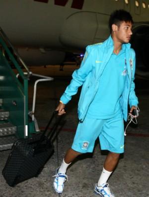 Neymar em Buenos Aires (Foto: Mowa Press)