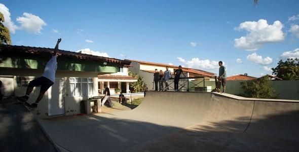 skate no quintal materia  (Foto: divulgao)