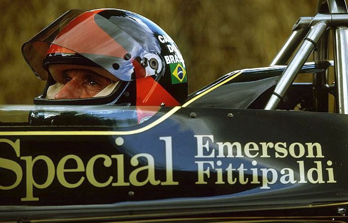 Emerson Fittipaldi Lotus 1972 (Foto: Getty Images)