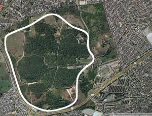 Reprodução google autódromo deodoro rio de janeiro (Foto: Google Maps)