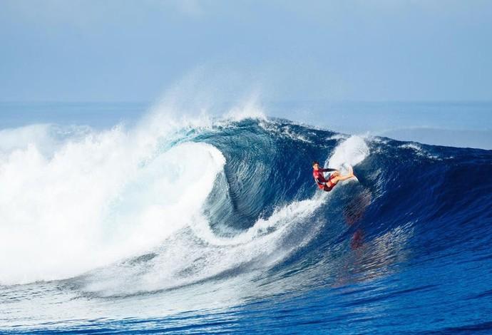 surfe Gabriel Medina quartas de final Fiji (Foto:  WSL / Ed Sloane)