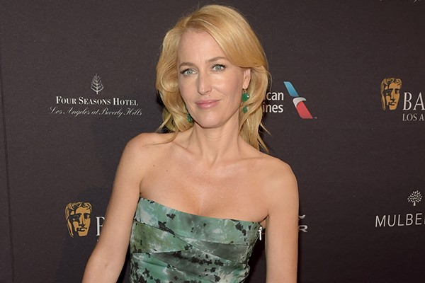 A atriz Gillian Anderson (Foto: Getty Images)