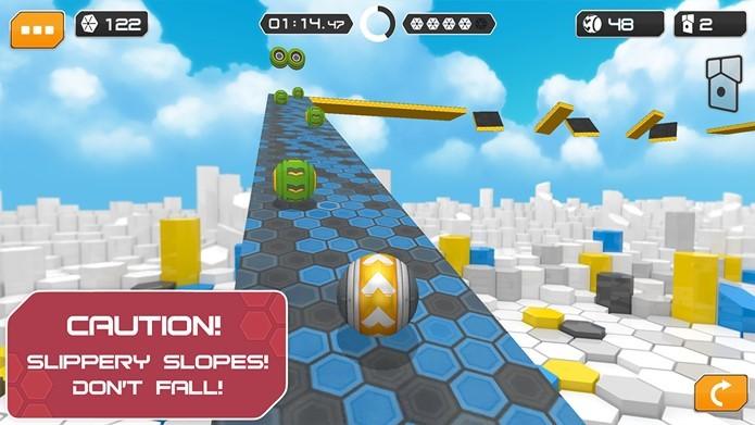 Gyrosphere Trials em um jogo diferente e inovador (Foto: Divulgação / Pronetis Games)