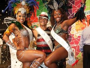 Corte real momesca do carnaval 2013 é eleita em Belo Horizonte (Foto: Robson Vasconcelos / Prefeitura de Belo Horizonte)