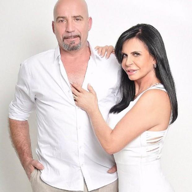Gretchen e o marido português Carlos Marques (Foto: Reprodução/Instagram)