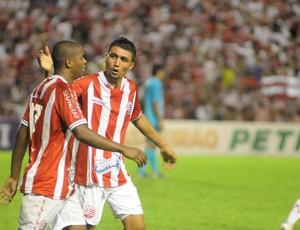 Kim - Kieza - Náutico (Foto: Aldo Carneiro/Pernambuco Press)