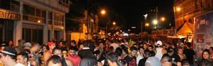 40 mil pessoas prestigiam a Banda da Bica, no Centro de Manaus (Diego Toledano/G1 AM)