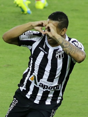 Ceará x Bahia gol (Foto: LC Moreira/Futura Press)