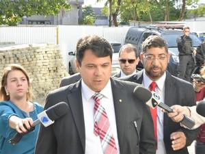 Juiz Carlos Eduardo Lemos (Foto: Guilherme Ferrari/ A Gazeta)
