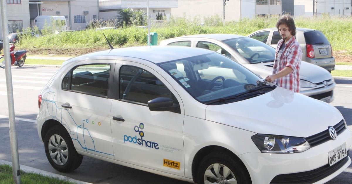 Bairro de Palhoça testa sistema de carro compartilhado entre ... - Globo.com
