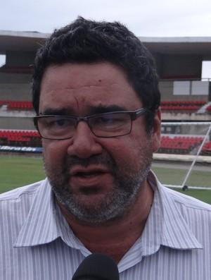 Marcos Lima Verde, supervisor do CRB (Foto: Denison Roma / GloboEsporte.com)