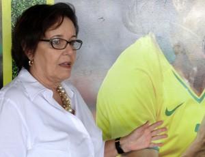 Secretária Esporte AL Vânia Quintela  (Foto: Viviane Leão/GLOBOESPORTE.COM)