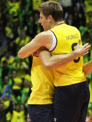 vbôlei murilo brasil polônia liga mundial (Foto: Alexandre Arruda / CBV)