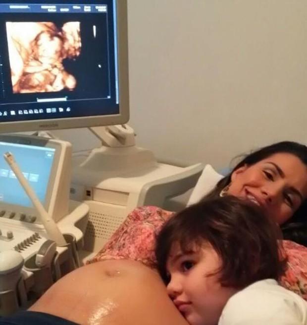 Mariana Felício está grávida de gêmeos (Foto: Arquivo Pessoal)