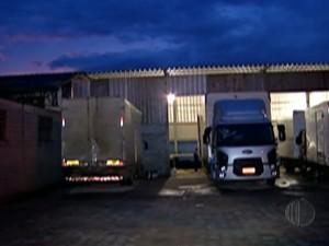 Dono de transportadora em Poá foi preso em operação contra roubo de carga (Foto: Reprodução/TV Diário)