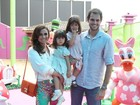 Giovanna Antonelli faz festa da Minnie para as filhas Sofia e Antônia