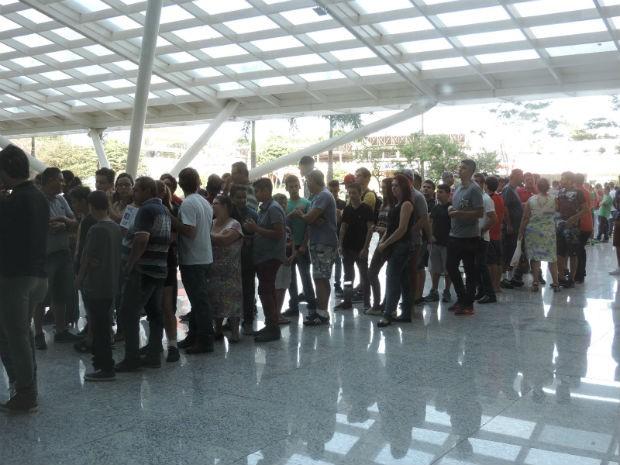 Disputas do FIFA 17 E Just Dance tiveram início às 10h15 (Foto: Bruna Alves/G1)