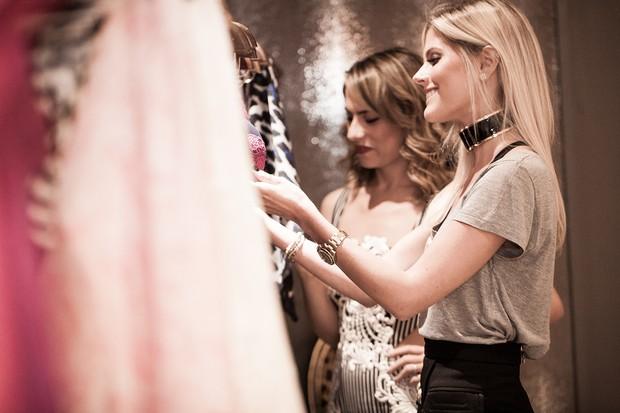 La Rouge Belle: Lala e Patricia Bonaldi revelam detalhes da coleção de verão da marca de underwear  (Foto: Editora Globo)