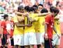 Alan e Goulart marcam e deixam time de Felipão folgado na ponta do Chinês