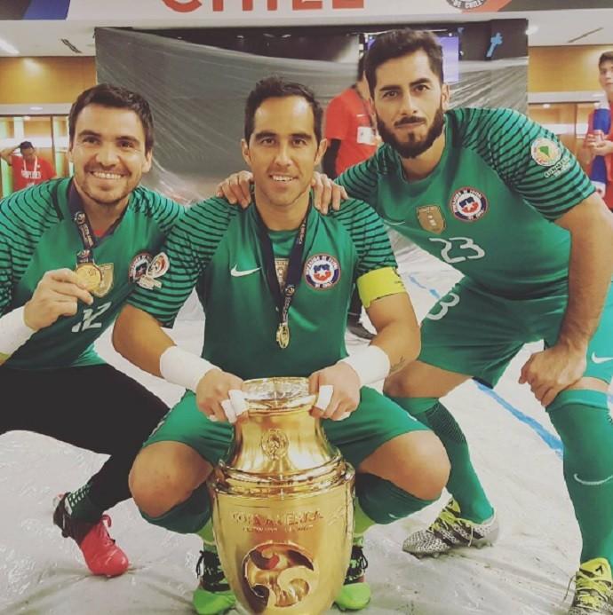 Chile Taça Copa América Centenário