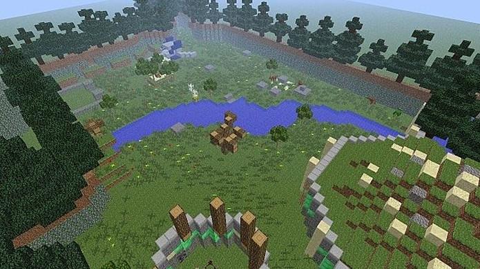 Starfox Adventures Project traz o mapa do clássico do GameCube para Minecraft (Foto: Reprodução/Planet Minecraft)
