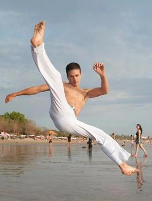 Instrutor de capoeira Iaco Zungu. (Foto: Iaco Zungu/divulgação)