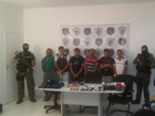 Presos suspeitos de envolvimento a assalto a bancos no Maranhão