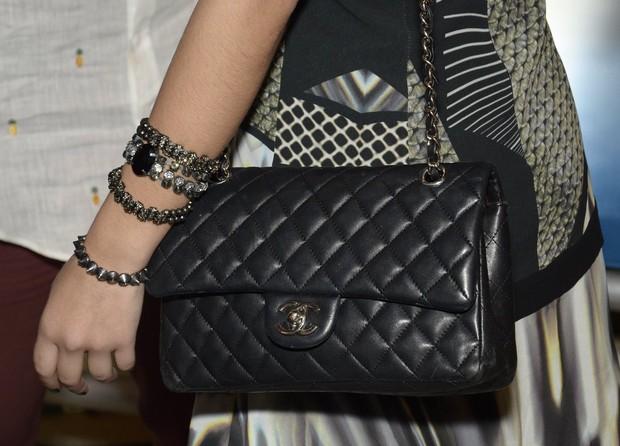 Bolsa da atriz Giovanna Lancellotti (Foto: Roberto Teixeira/EGO)