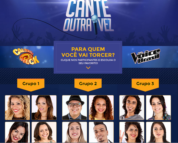 Veja quem são os participantes (Foto: Caldeirão do Huck/TV Globo)