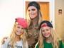 Fernanda Lima se diverte com filhos de peruca em bastidor de 'Amor e Sexo'