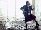 Geralda faz ensaio em clima rock'n'roll: 'Sou solta, rebelde e destemida'