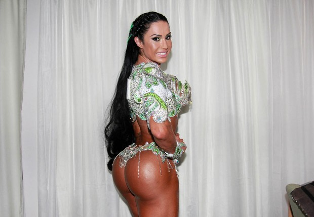 Gracyanne Barbosa - X-9 Paulistana (Foto: Celso Tavares/EGO)