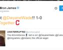 LeBron aceita aposta de Wade na final do beisebol entre Indians e Cubs