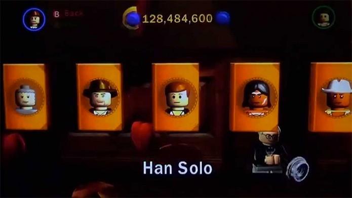 Han Solo em Lego Indiana Jones (Foto: Reprodução/GamingBricks)