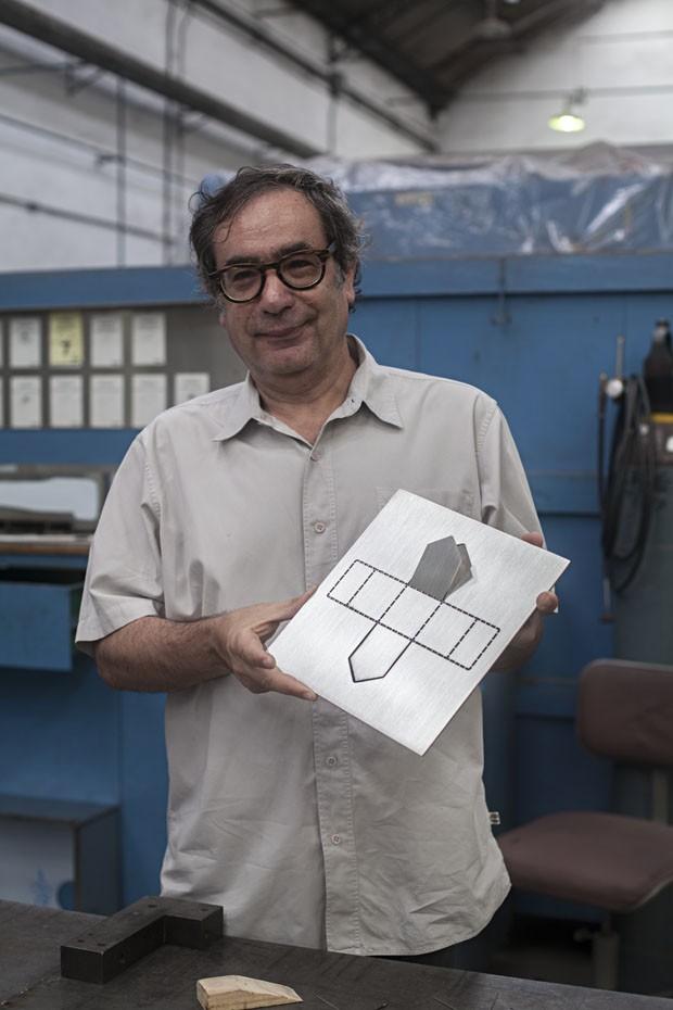 Mais que um troféu: o objeto dado aos vencedores do Prêmio Casa Vogue Design (Foto: Roberto Cecato)