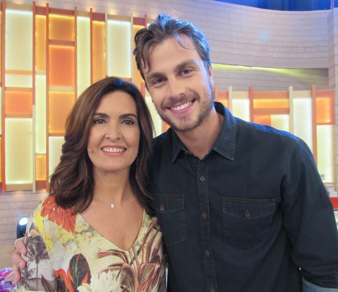 O ator Paulo Dalagnoli também participou do programa (Foto: Priscilla Massena/Gshow)