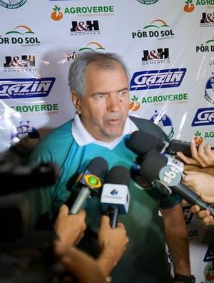 Marcos Birigui muita experiência como treinador se apresenta no Real (Foto: Divulgação)
