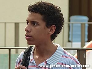 Paulino fica chateado com Micaela (Foto: Malhação / TV Globo)