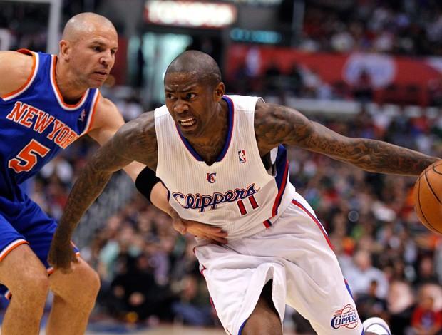 Jason Kidd e Jamal Crawford NBA Knicks x Clippers (Foto: Reuters)