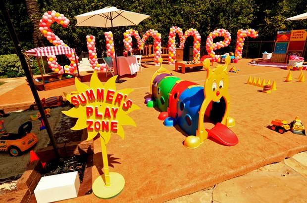 Festa de aniversário de Summer, filha de Christina Aguilera e Matthew Rutler (Foto: Christopher Polk/Getty Images)