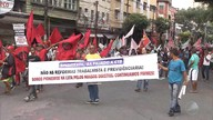 Grupo protesta em Salvador contra Michel Temer