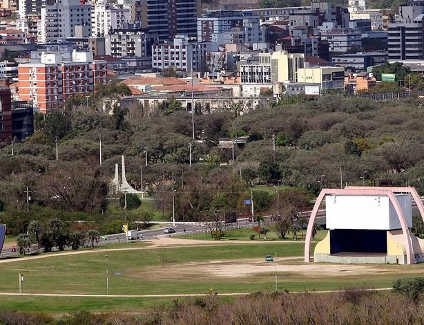 Porto Alegre muda local, e Fan Fest da Copa será no Anfiteatro Pôr do Sol (Foto: Ivo Gonçalves/PMPA)