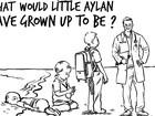 Rainha da Jordânia responde a charge de Charlie Hebdo sobre Aylan