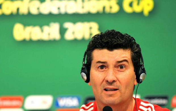 José Manuel, Treino México, Maracanã (Foto: Andre Durão)