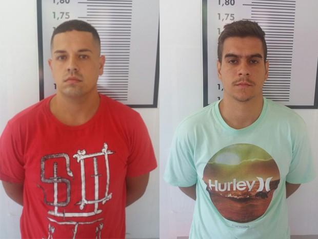Torcedores foram presos na Baixada Santista (Foto: Divulgação/Polícia Civil)