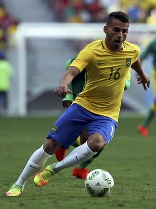 Thiago Maia Brasil x Africa do Sul (Foto: Reuters)