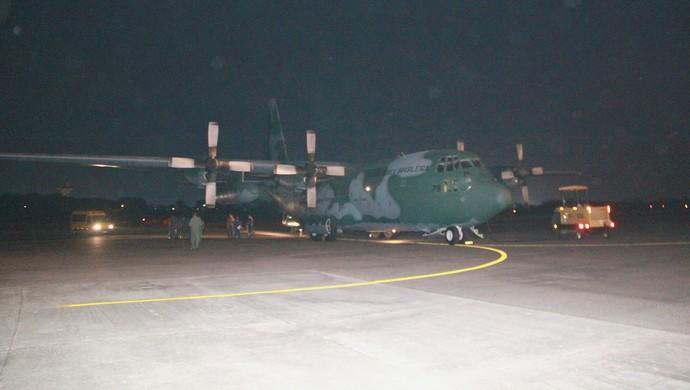 Hércules C-130 (Foto: Marcos Dantas)
