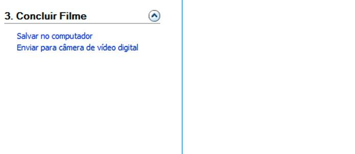 Clique na opção para salvar seu vídeo (Foto: Reprodução/André Sugai)